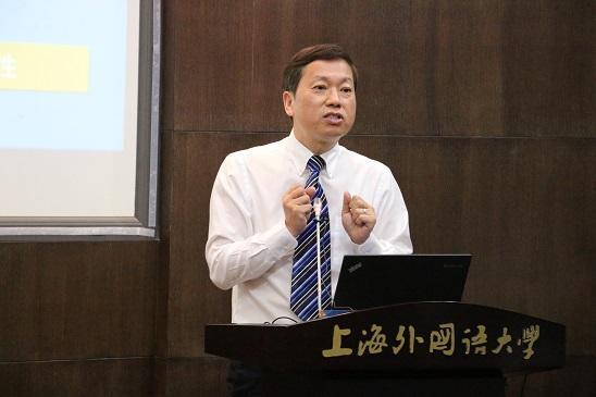 郭可  上海外国语大学新闻传播学院院长